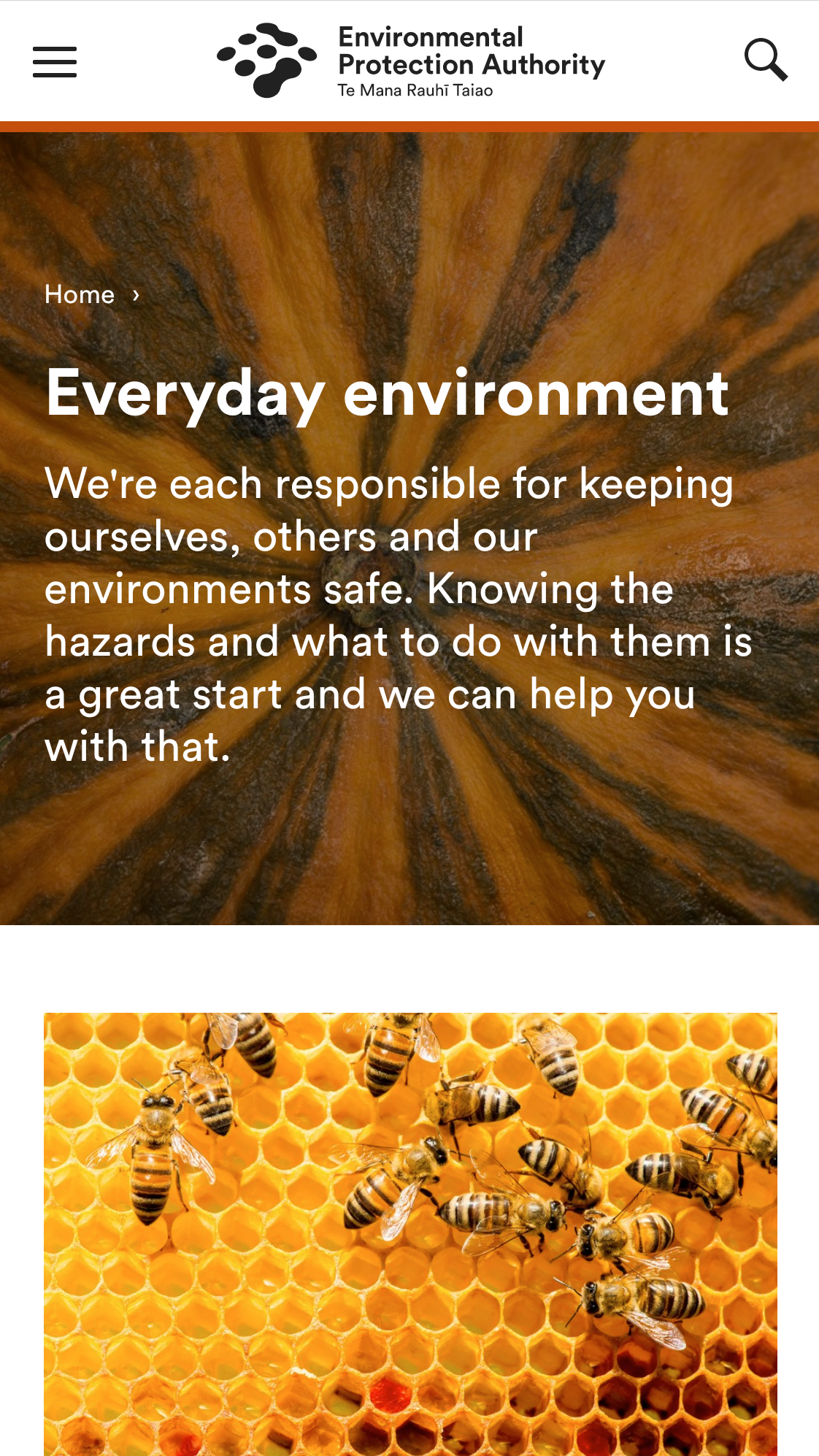 Environmental Protection Authority (SilverStripe)