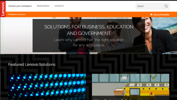 Lenovo Solutions (Webbuilders Group)