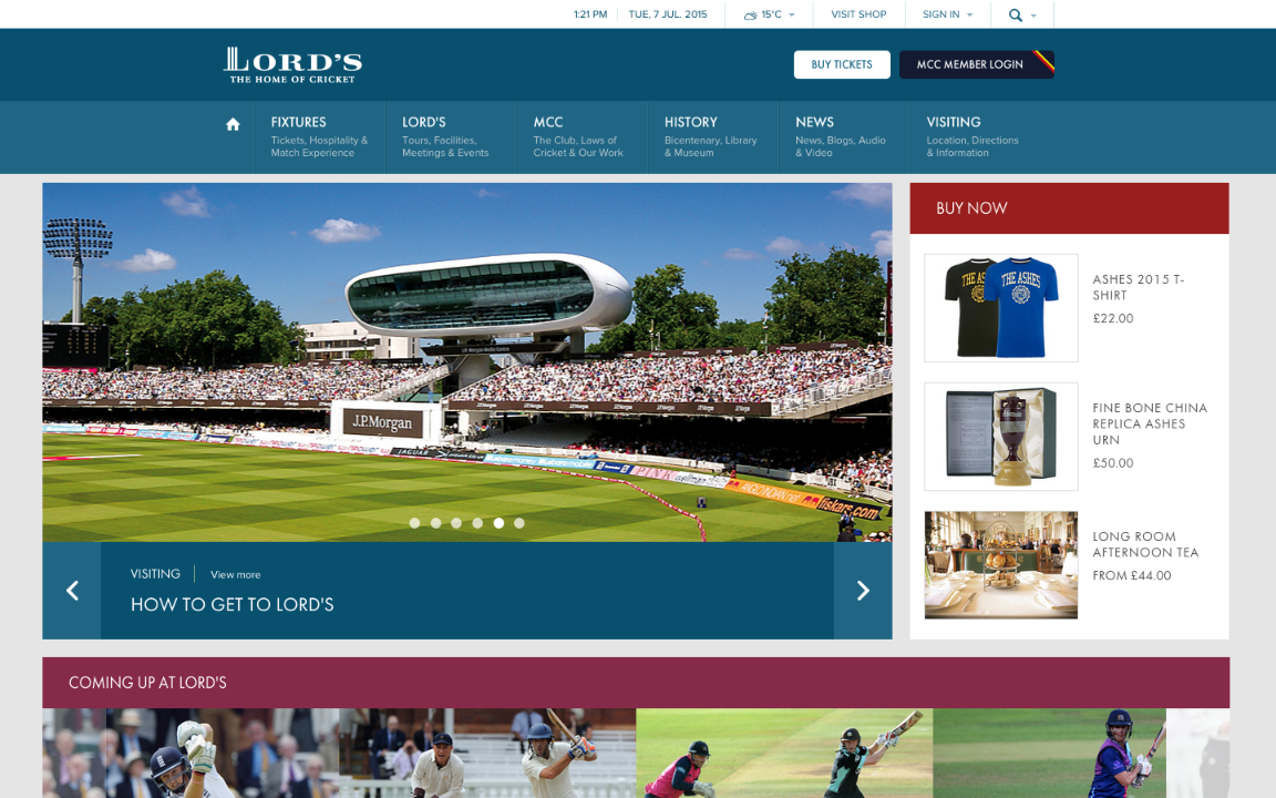 Lord's - The home of cricket (GBarden)