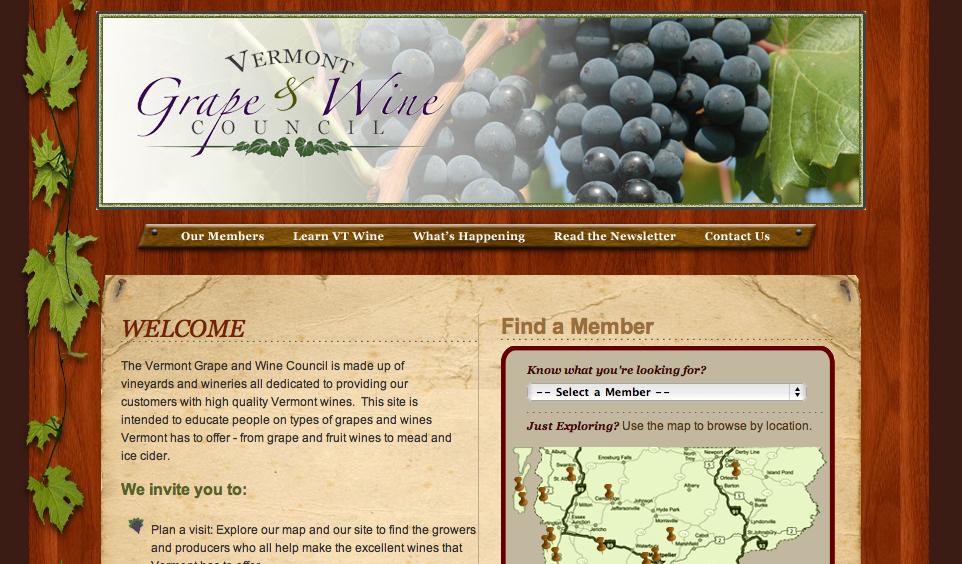 Vermont Grape and Wine Council (UncleCheese)