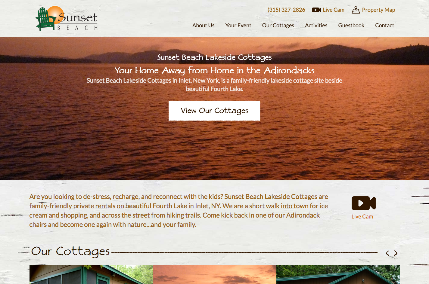 Sunset Beach Cottages (Trainor)
