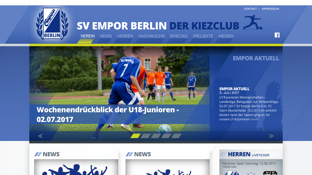 SV Empor Berlin (X NEW MEDIA COMPOSITION)
