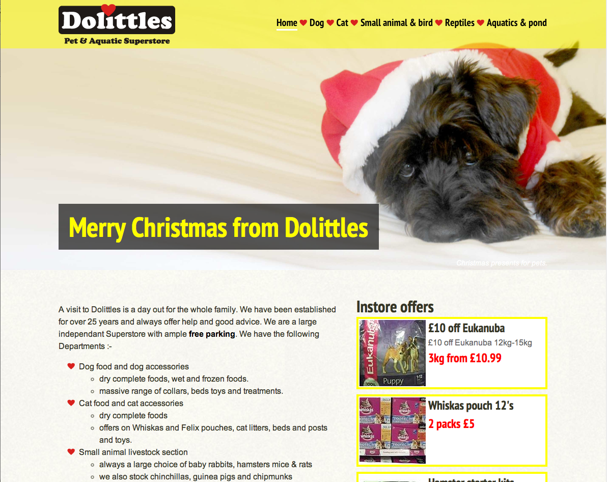 Dolittles Pet Superstore (bones)