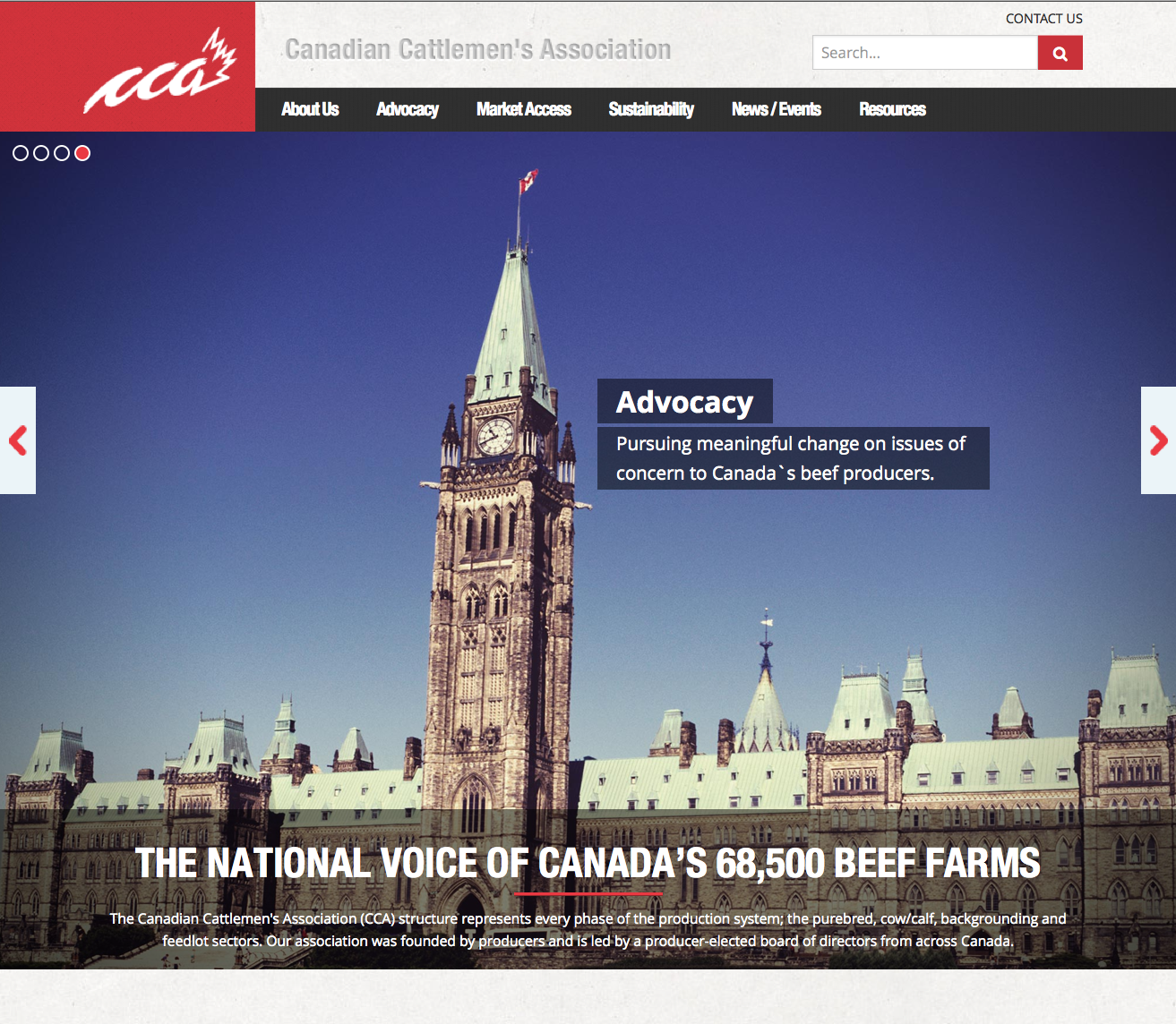 The Canadian Cattlemen's Association (CCA) (icona)