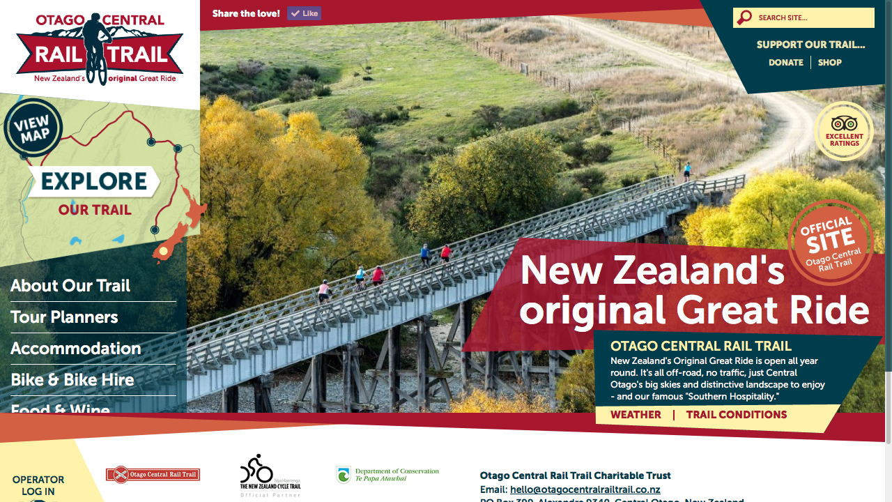 Otago Central Rail Trail (Gdog)
