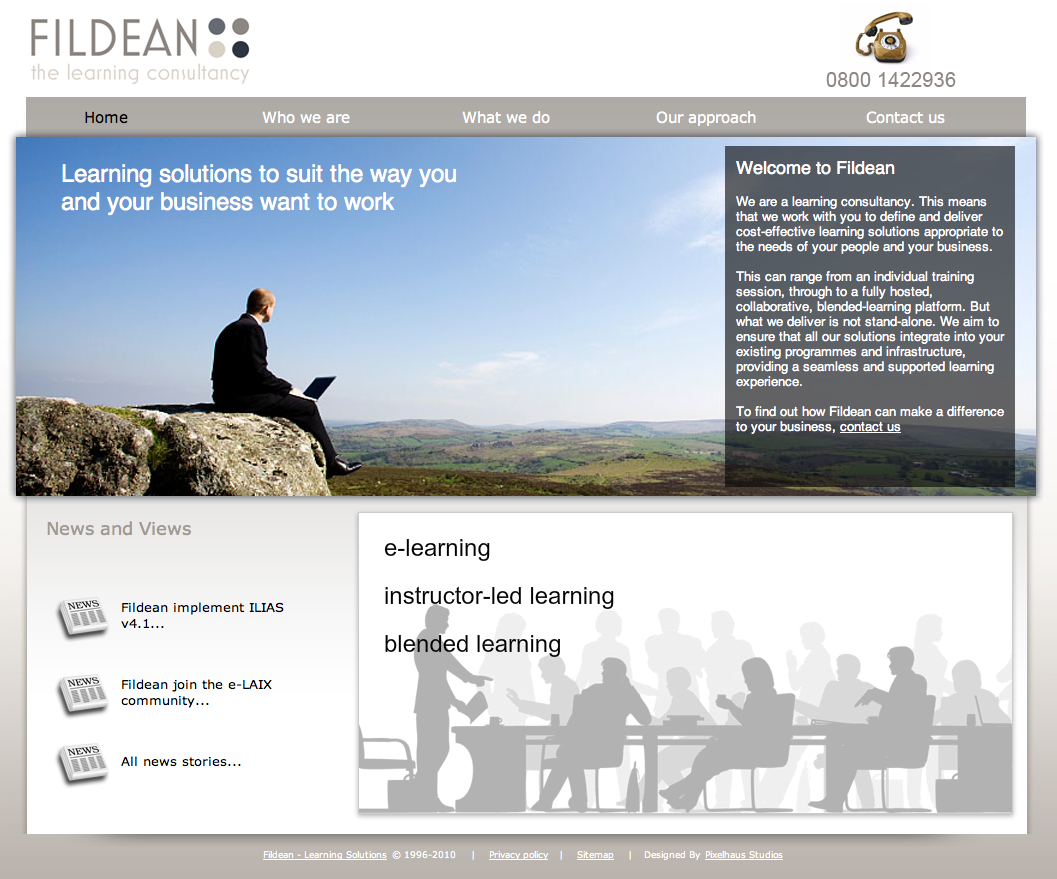 Fildean Learning Solutions (Pixelhaus)