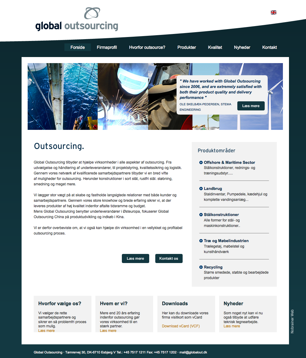 Global Outsourcing (Nobrainer Web)