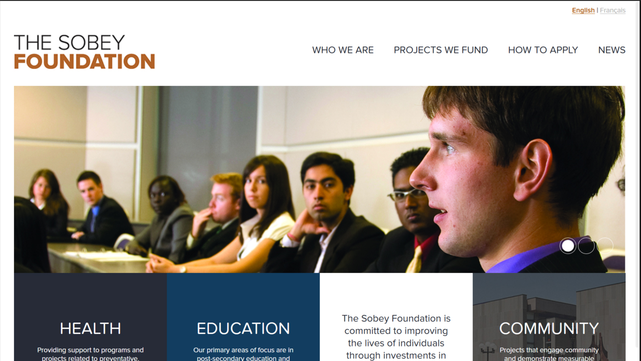 The Sobey Foundation (Webbuilders Group)