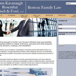 Conn Kavanaugh Family Law Info Site 2010-01-01