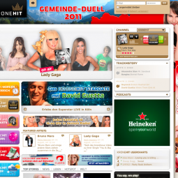 Kronehit Website 2009-09-01