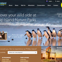 Phillip Island Nature Parks Website 2013-05-03
