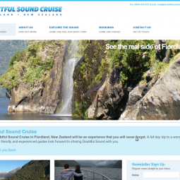 Doubtful Sound Cruise 2011-02-01