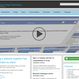 Silverstripe Page Elements Module 2010-04-25