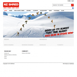 NZ Shred Showboard shop 2012-05-10