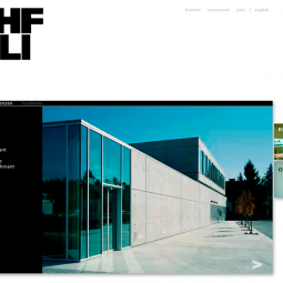 BEHF Architects Website 2008-03-03