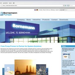 Bornemann - Multiphase pumps for industrial use 2009-10-10