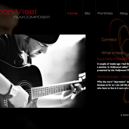 Brandon Visel - Film Composer 2012-01-23
