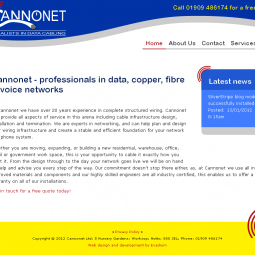 Cannonet - Data Cabling Specialists 2012-02-23