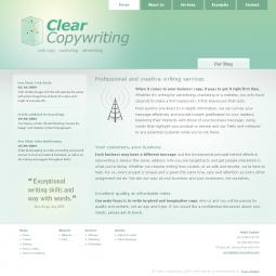 Clear Copywriting 2009-09-25