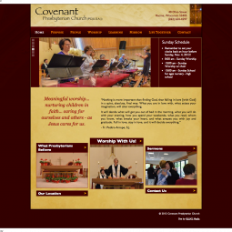 Covenant Presbytarian Church 2012-11-03