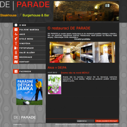 De | Parade - Restaurant, Steakhouse and Bar 2012-02-01