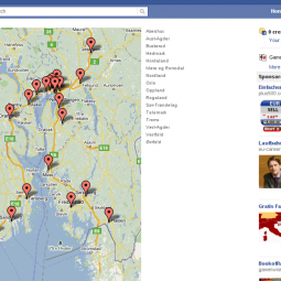 Handelsbanken Facebook office locator 2011-04-15