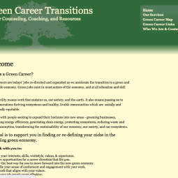 Green Career Transitions 2009-05-15