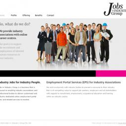 Jobs in Industry Group 2010-09-06