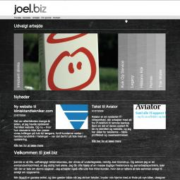 joel.biz – small advertising agency in Denmark 2009-04-01