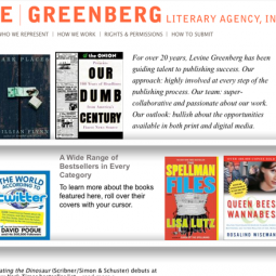 Levine Greenberg Literary Agency, Inc 2009-09-03