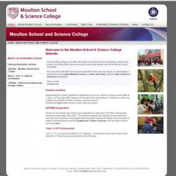 Moulton School & Science College 2010-01-01