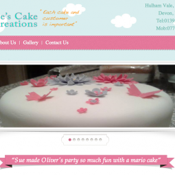 Sues cake creations 2013-08-01