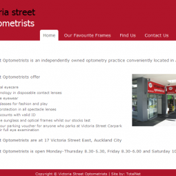 Victoria Street Optometrists 2009-09-01