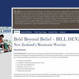 Bill Denz Mountaineer 2011-10-01