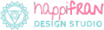 happifran design studio logo