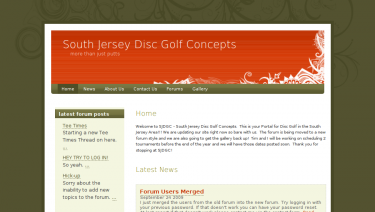 South Jersey Disc Golf Concepts