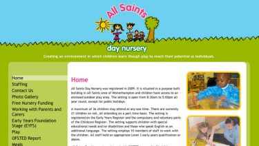 All Saints Day Nursery