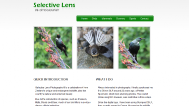 Selective Lens Photography