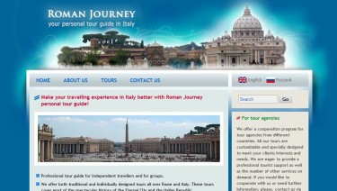 Roman Journey - personal escorted tours in Rome an