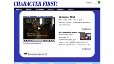 CharacterFirst!