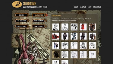 Ruggine - Illustration and Character Design