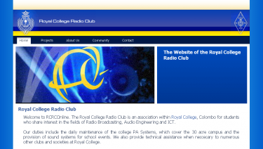 Royal College Radio Club