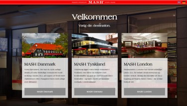 MASHSTEAK – Landingpage