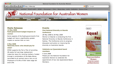 National Foundation for Australian Women
