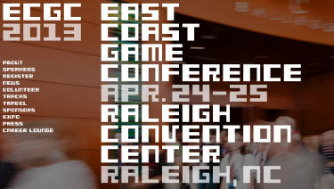 ECGC - East Coast Game Conference