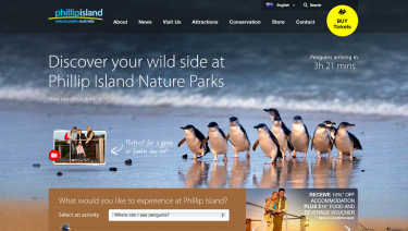 Phillip Island Nature Parks Website
