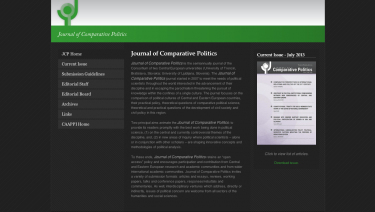 Journal of Comparative Politics