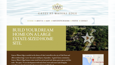 Gates at Waters Edge