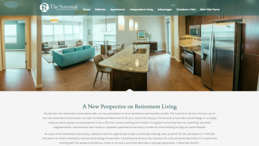 Rockwood Retirement Summit Microsite