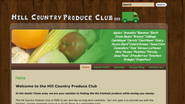 Hill Country Produce Club